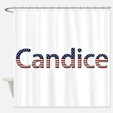 Candice Stars and Stripes Shower Curtain