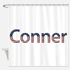 Conner Stars and Stripes Shower Curtain