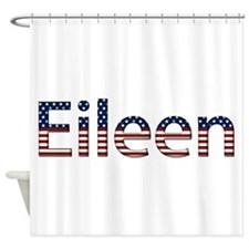 Eileen Stars and Stripes Shower Curtain