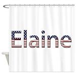 Elaine Stars and Stripes Shower Curtain