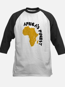 Rwanda Africa's finest Kids Baseball Jersey