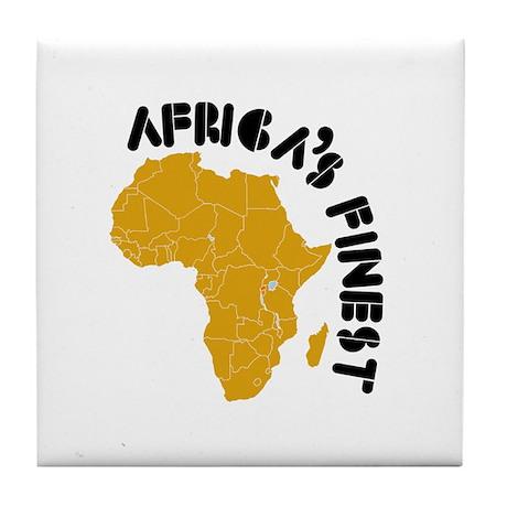 Rwanda Africa's finest Tile Coaster