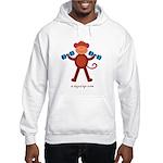 Weight Lifting Gear Hooded Sweatshirt