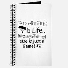 Parachuting Is Life Journal
