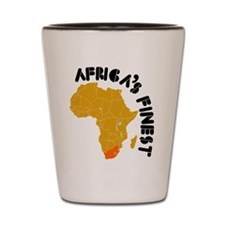 South Africa Africa's finest Shot Glass