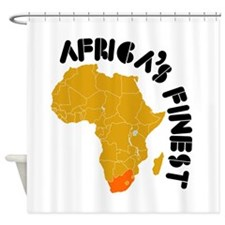 South Africa Africa's finest Shower Curtain
