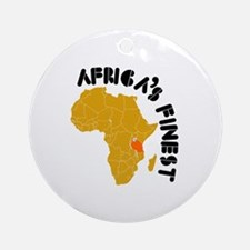 Tanzania Africa's finest Ornament (Round)