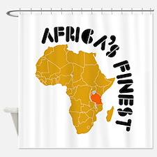 Tanzania Africa's finest Shower Curtain