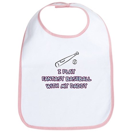 Fantasy Baseball Parents Bib