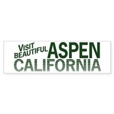 Aspen, California? Bumper Bumper Sticker