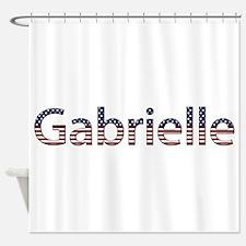 Gabrielle Stars and Stripes Shower Curtain