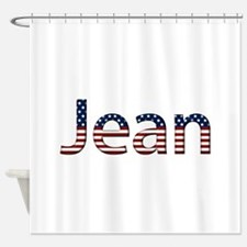 Jean Stars and Stripes Shower Curtain