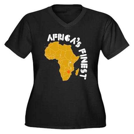 Zimbabwe Africa's finest Women's Plus Size V-Neck