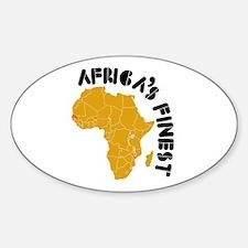 Senegal Africa's finest Decal