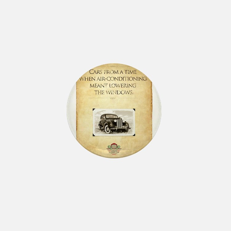 Classic Car Mini Button