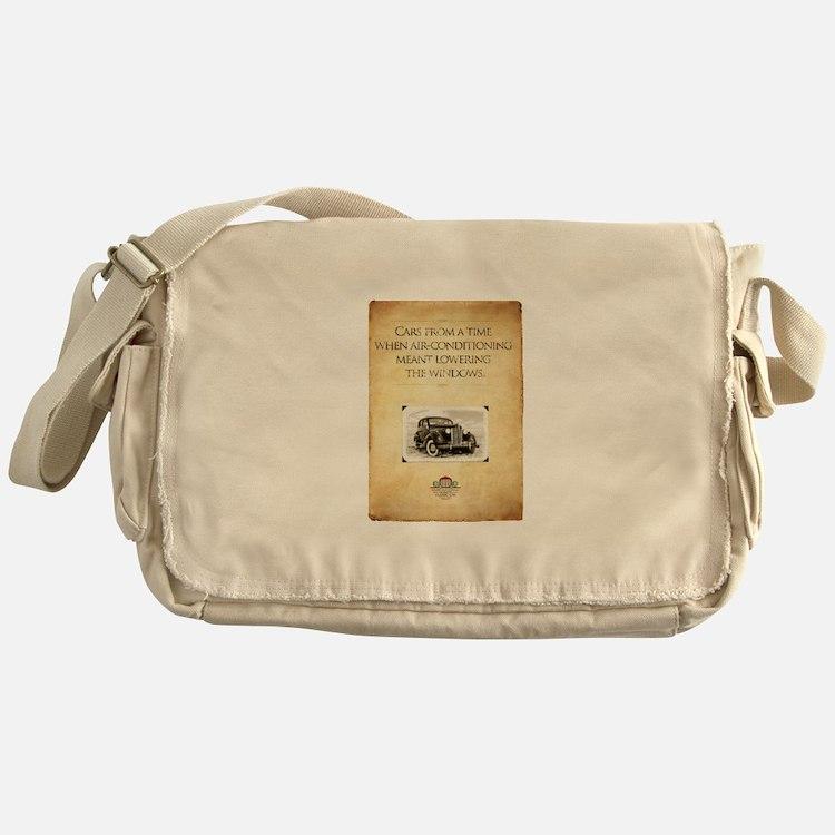 Classic Car Messenger Bag