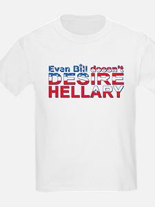 Not Hillary, Clinton - Kids T-Shirt