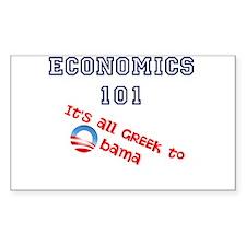 Cute Economics 101 Decal