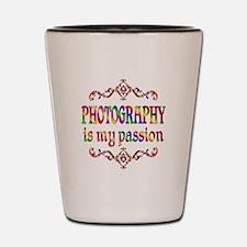 Photography Passion Shot Glass