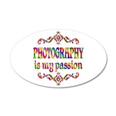 Photography Passion 22x14 Oval Wall Peel