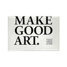 Make Good Art Rectangle Magnet