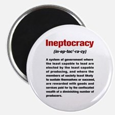 Ineptocracy Definition Magnet