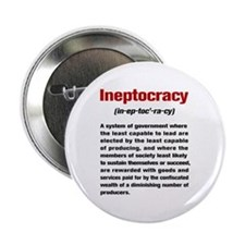 "Ineptocracy Definition 2.25"" Button"