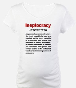 Ineptocracy Definition Shirt