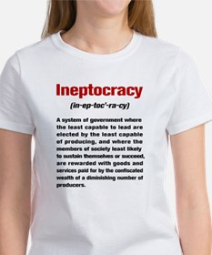 Ineptocracy Definition Tee