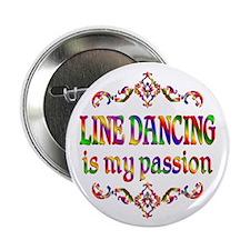 "Line Dancing Passion 2.25"" Button"