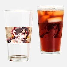 cocking anime Drinking Glass