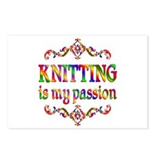 Knitting Passion Postcards (Package of 8)