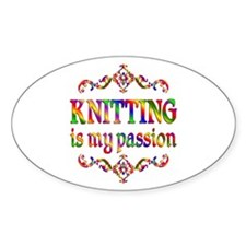 Knitting Passion Decal