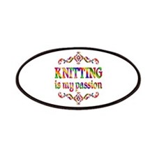 Knitting Passion Patches