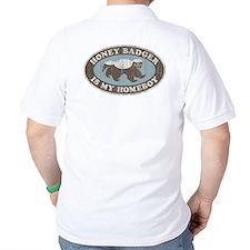 Vintage Honey Badger HB T-Shirt