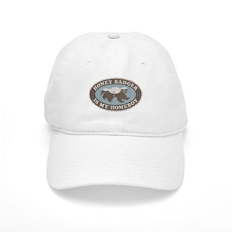Vintage Honey Badger HB Cap