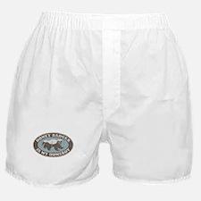 Vintage Honey Badger HB Boxer Shorts
