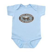 Vintage Honey Badger HB Infant Bodysuit