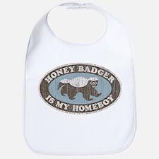 Vintage Honey Badger HB Bib