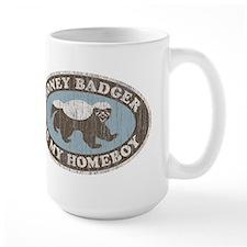 Vintage Honey Badger HB Coffee Mug