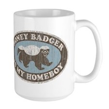 Vintage Honey Badger HB Mug