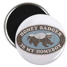 Vintage Honey Badger HB Magnet