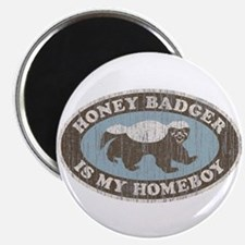 "Vintage Honey Badger HB 2.25"" Magnet (10 pack)"