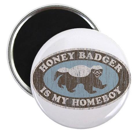 """Vintage Honey Badger HB 2.25"""" Magnet (100 pack)"""