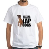 Dog Mens White T-shirts