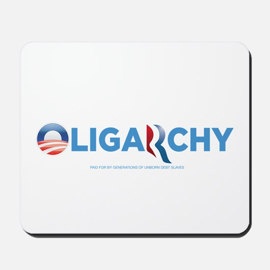 Oligarchy 2012 Mousepad