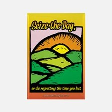 Seize the Day... Rectangle Magnet