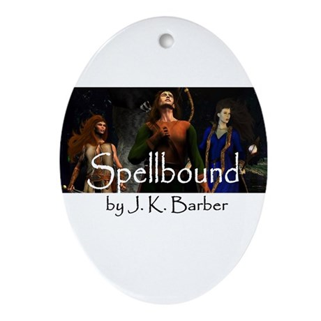 Spellbound Ornament (Oval)