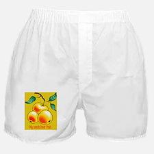 fatherhood pregnancy announcement Boxer Shorts