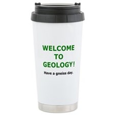 Geology Welcome 3 Travel Mug